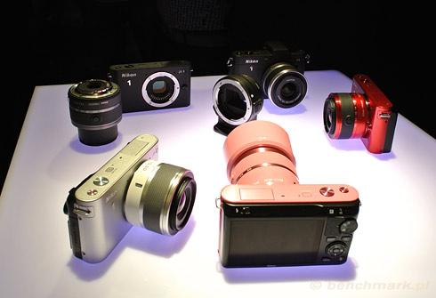 Nikon 1 J1 kolory