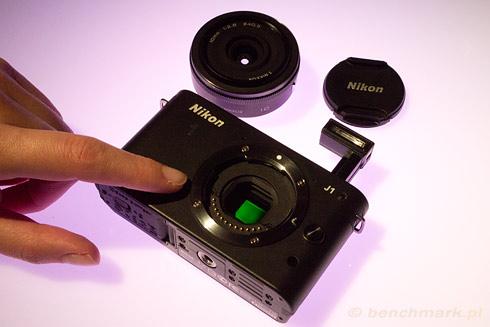 Nikon 1 J1 sensor CMOS