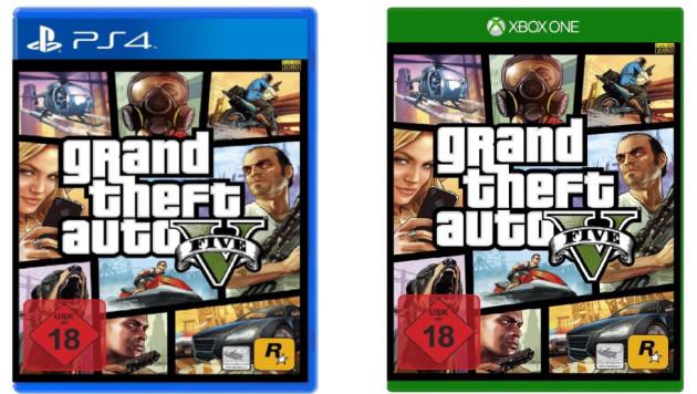 GTA 5 konsole nowej generacji box