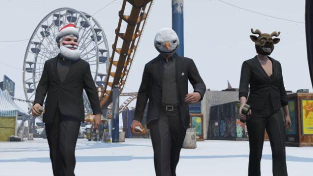 Grand Theft Auto Online gra dwiazdkowe prezenty