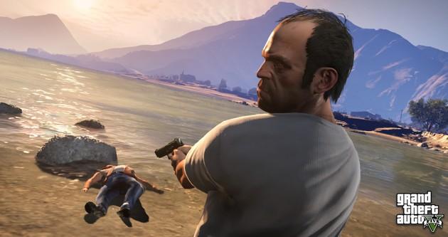 GTA V gra brutalna