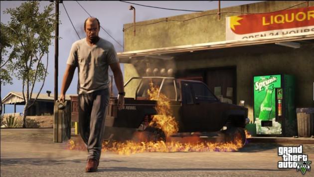 GTA V gra głosy prawdziwych gangsterów