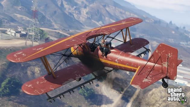 GTA V PC samolot