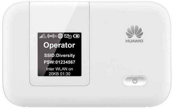 Huawei E5372 router wygląd