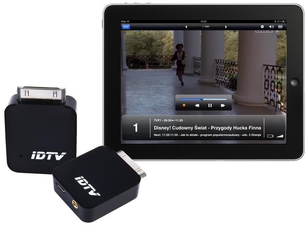 iD-iPadTV tuner wygląd