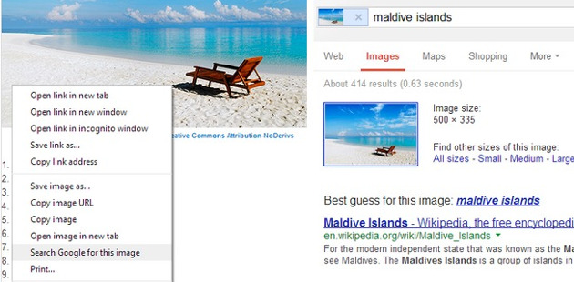 google chrome 30 wyszukiwanie po obrazie