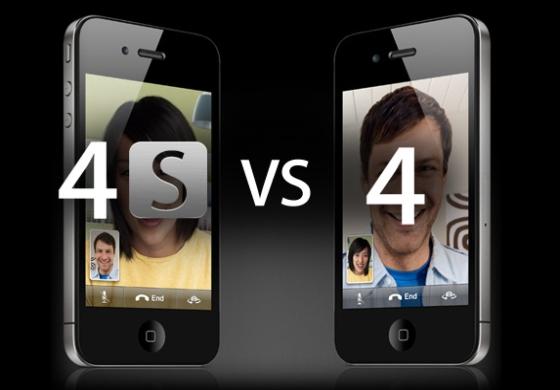 iPhone 4 vs 4S smartfony porównanie podobieństwa różnice