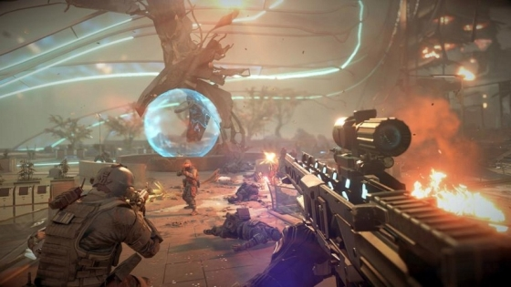 Killzone: Shadow Fall gra screen