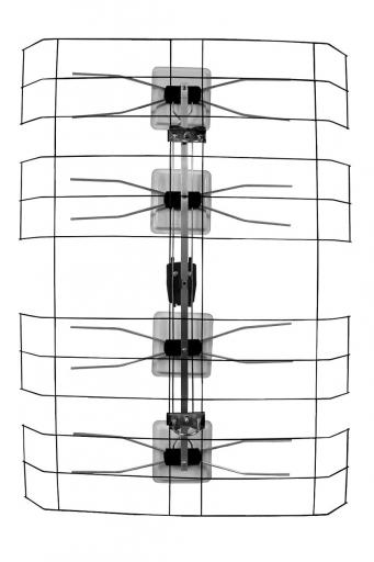 klasyczna antena siatkowa anlogowy odbiór cyfroy dvb-t mpeg-4