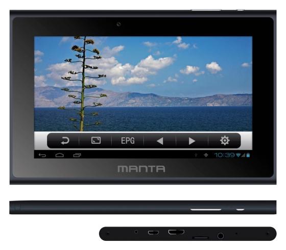 Manta PowerTab MID14 DVB-T tablet specyfikacja