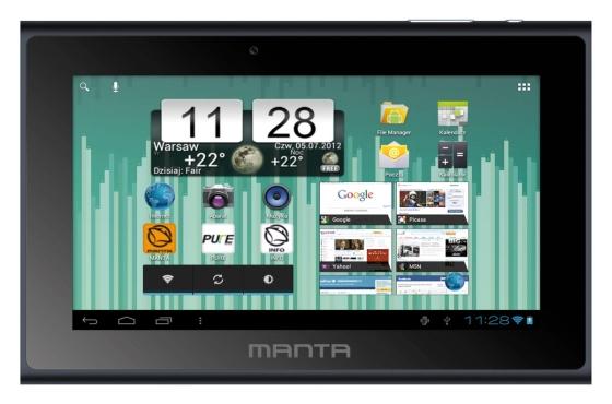 Manta PowerTab MID14 DVB-T tablet