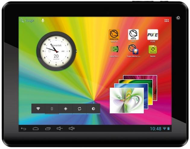 Manta MID9701 MID9702 tablet wygląd