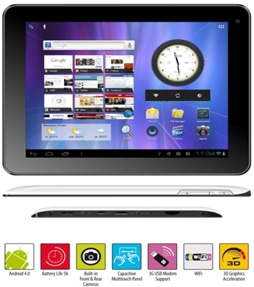 Manta Power Tab 801 HD tablet cechy