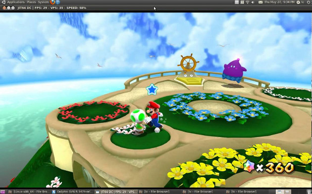 wii dolphin emulator linux ubuntu gra