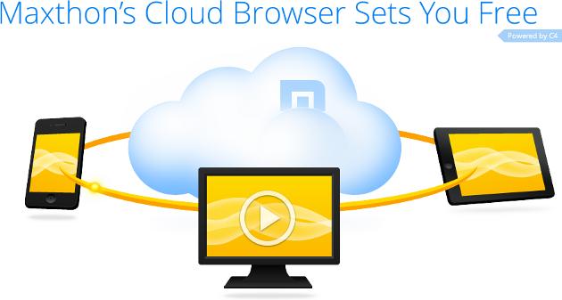 maxthon 4 przeglądarka internet cloud chmura pobierz download