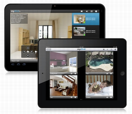 mydlink aplikacja serwis on-line internet monitoring zmiany nowe funkcje tablet smartfon komputer