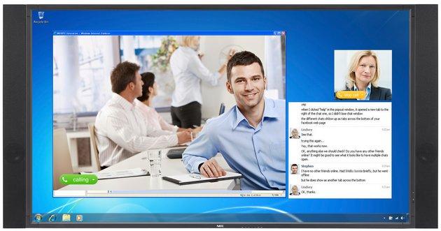 NEC MultiSync W801 monitor wygląd