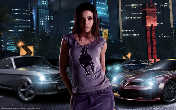 need for speed gra screen auto dziewczyna