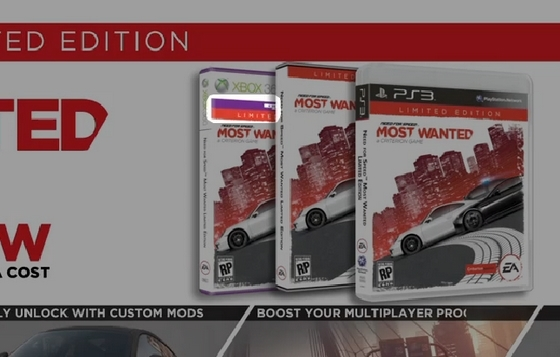 "Need For Speed: Most Wanted filmik - ""Better with Kinect""?"