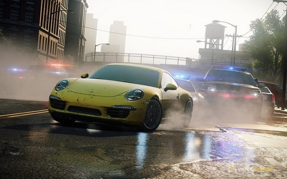 Need For Speed: Most Wanted gra screen
