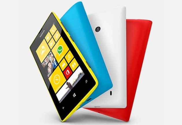 Nokia Lumia 520 smartfon