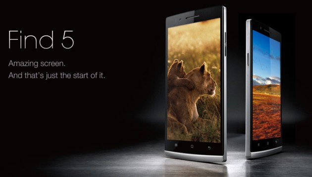 Oppo Find 5 smartfon