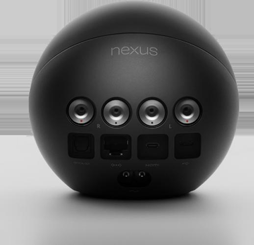 google nexus q odtwarzacz społecznościowy widok złącza