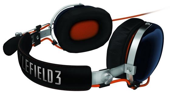 Razer BlackShark słuchawki Batllefield 3 pałąk