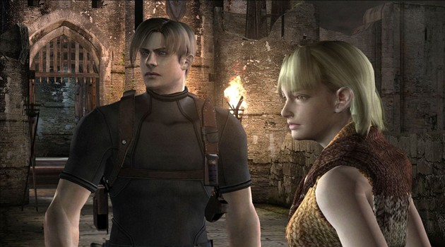 Resident Evil 4 HD PC screen