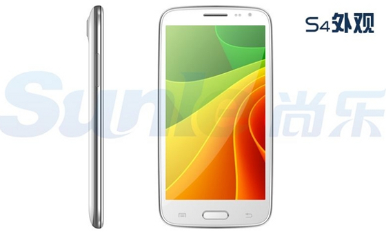 sunle s400 wygląd biały smartfon podróbka klon samsung galaxy s4