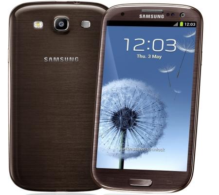 Samsung Galaxy S 3 smartfon bursztynowy