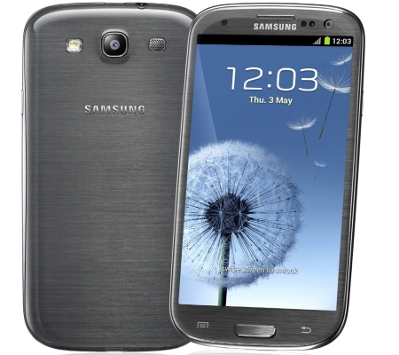 Samsung Galaxy S 3 smartfon tytanowo-szary