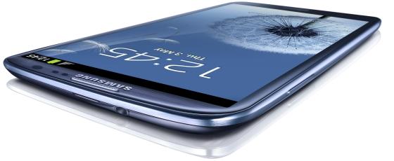 Samsung Galaxy S 3 smartfon