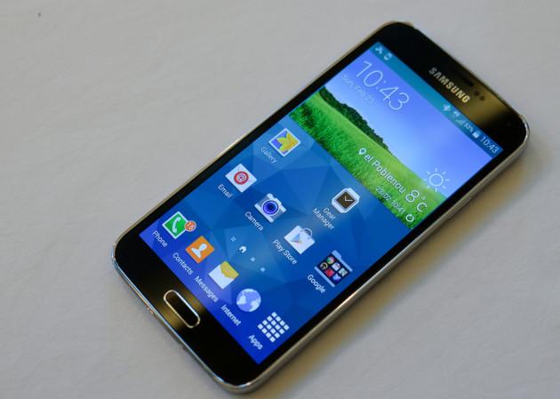 Samsung Galaxy S5 smartfon ekran