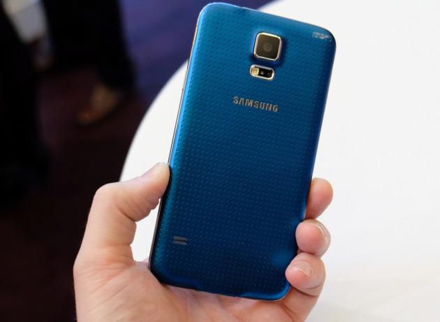 Samsung Galaxy S5 smartfon tył