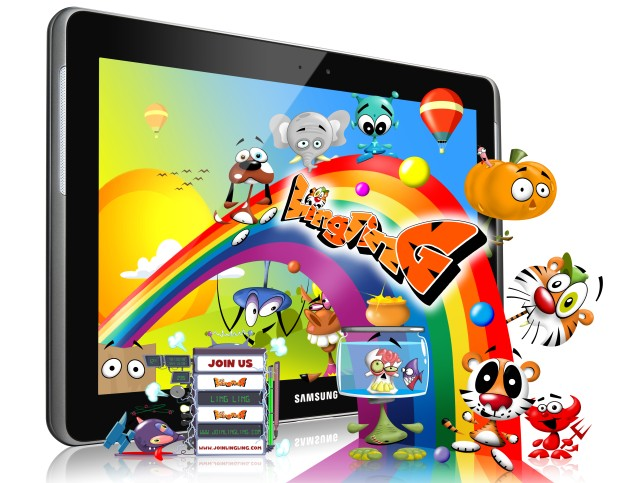 Samsung Galaxy Tab 2 aplikacja LingLing