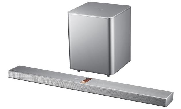 Samsung HW-F750 soundbar wygląd