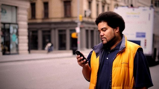 Smartfon zerknięcie