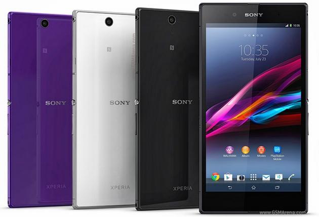 Sony Xperia Z Ultra phablet wygląd