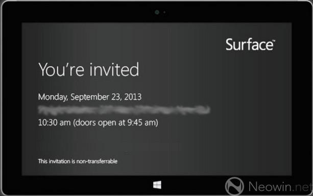 surface 2 microsoft zapowiada wydarzenie 23 września nieoficjalna specyfikacja tablet
