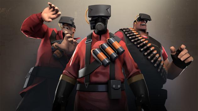 vr oculus rift okulary wirtualna rzeczywistość team fortress 2