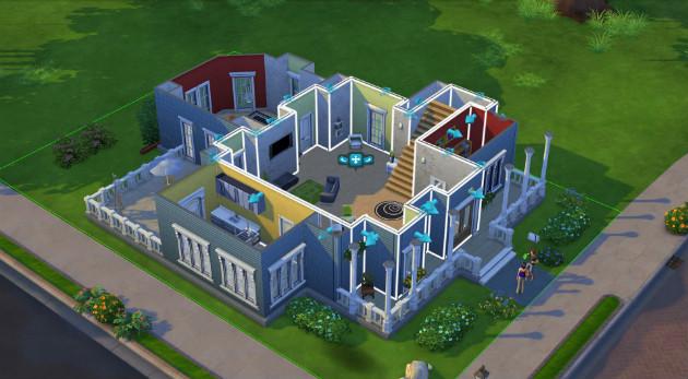 The Sims 4 budowanie