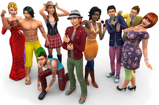 The Sims 4 postacie