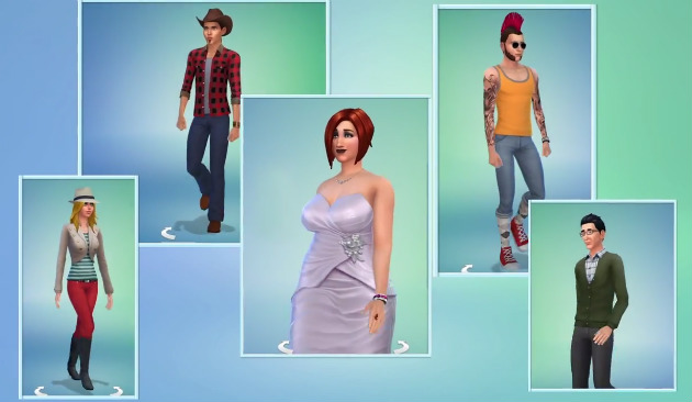 The Sims 4 simy