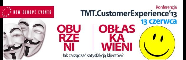 TMT.Customer Experience'13 konferencja