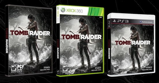 Tomb Raider gra okładka