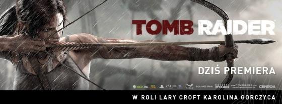 Tomb Raider gra premiera 5 marca