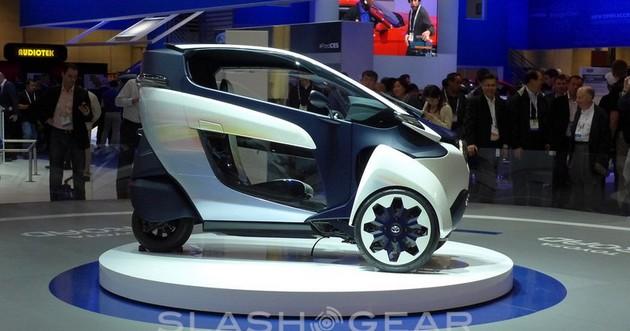 Toyota i-Road prezentacja