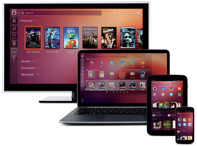 ubuntu 13.10 premiera linux desktop notebook tv tablet smartfon