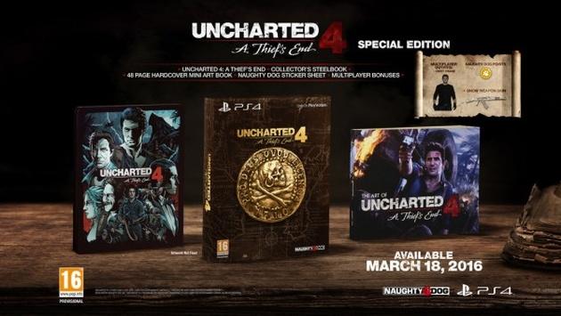 Uncharted 4: Kres Złodzieja edycja specjalna
